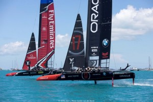 25/06/2017 - Bermuda (BDA) - 35th America's Cup 2017 - 35th America's Cup 2017 Presented by Louis Vuitton, Day 4