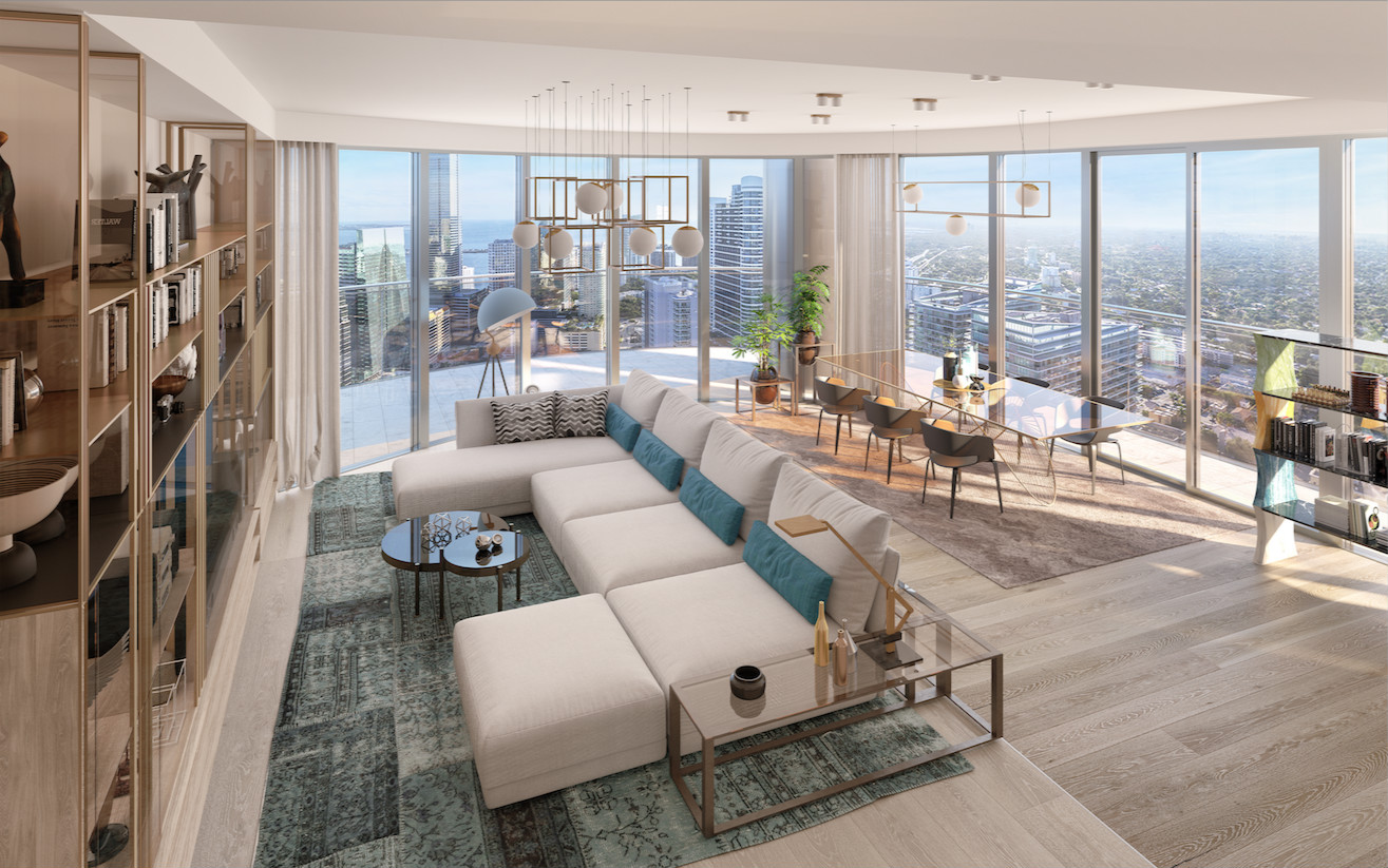 Luxurious Penthouse Collection At Massimo Iosa Ghini