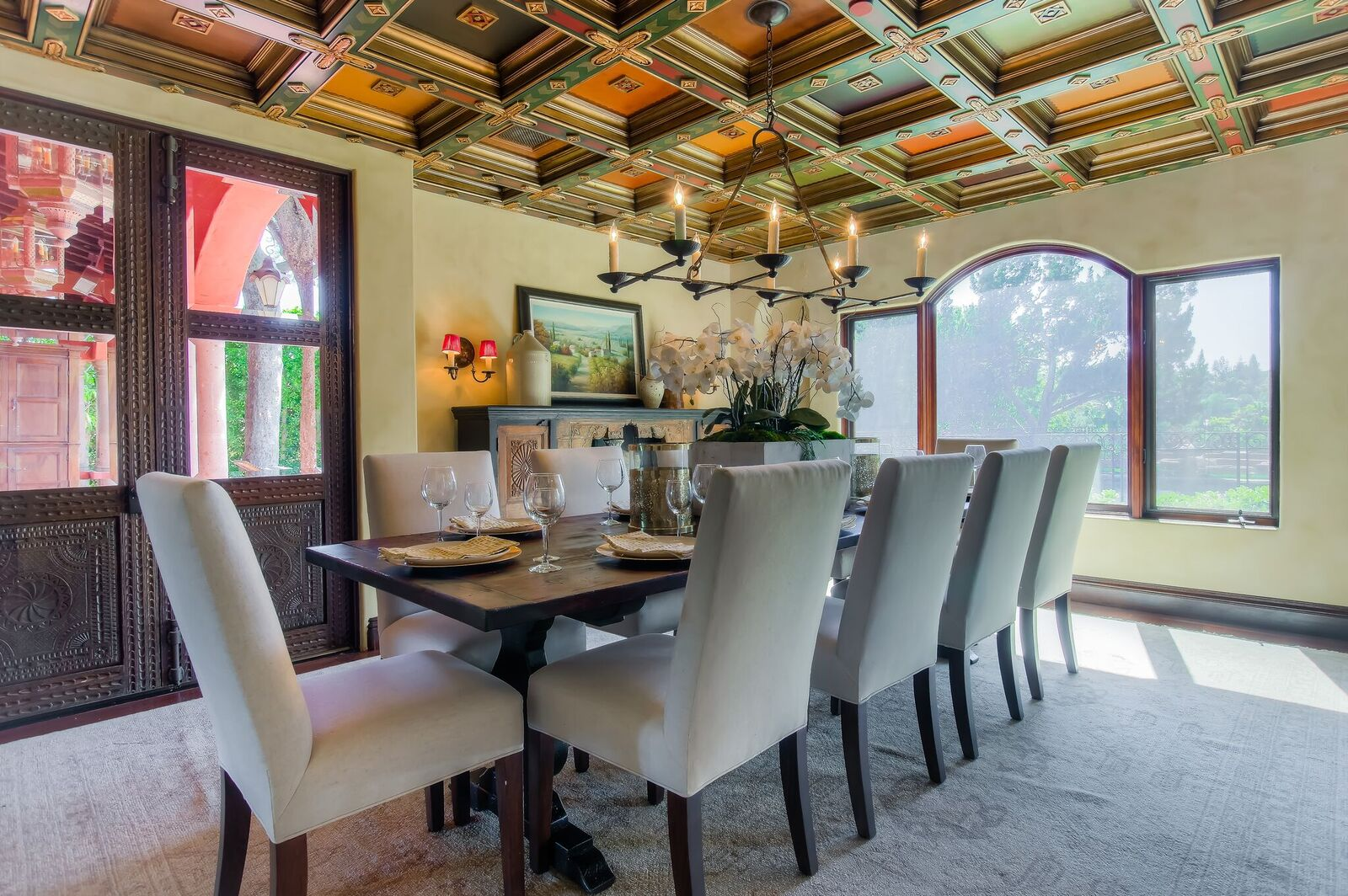 Latina Actress Alex Meneses S Spanish Style Home Is For Sale For