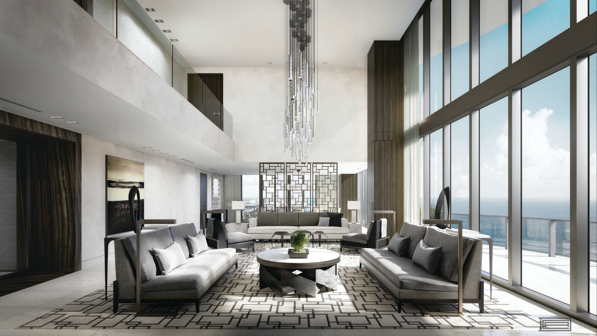Attraktiv Awesome Extravagantes Penthouse Design Contemporary   Einrichtungs .