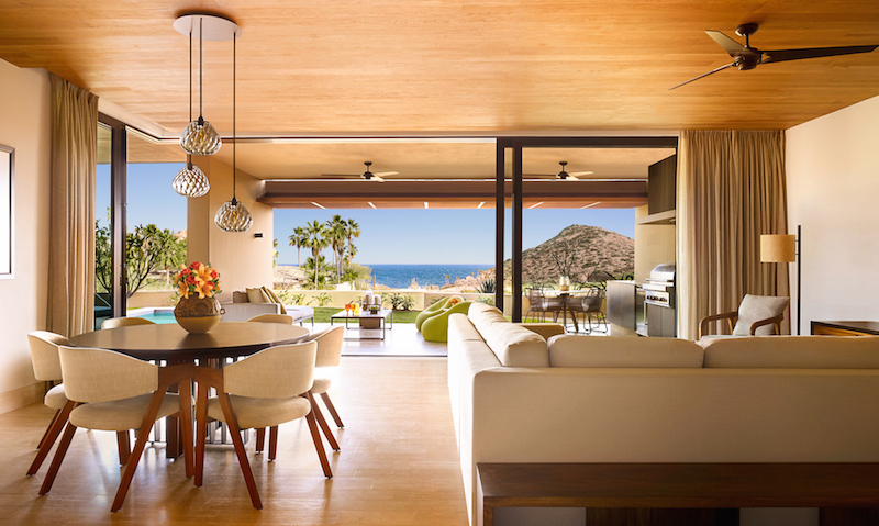 Montage Residences Los Cabos living dining