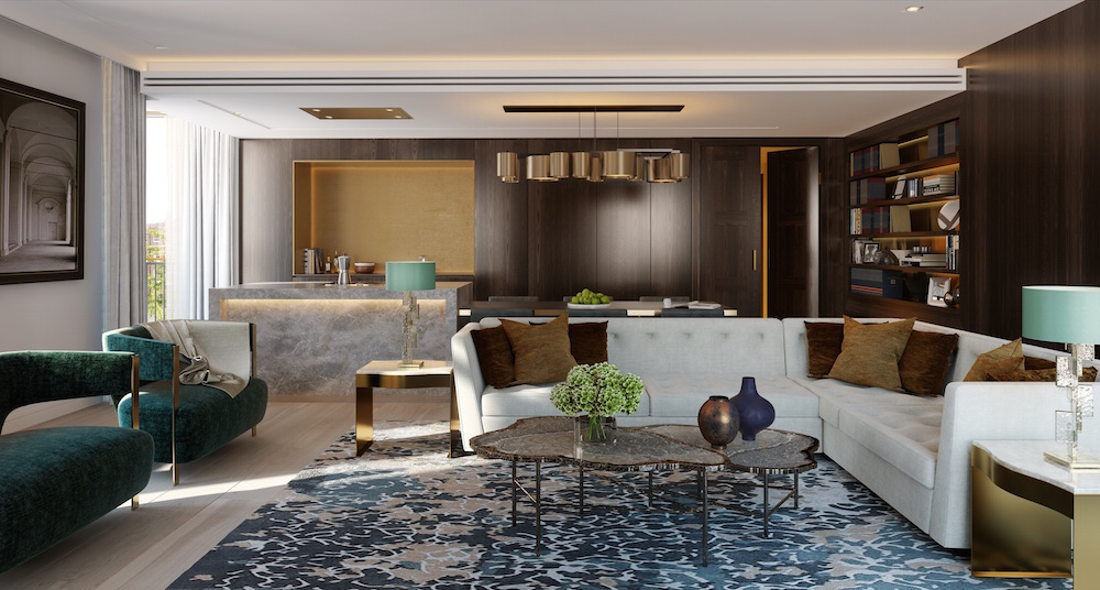 Lodha UK Lincoln Square 3 BED LIVING 02