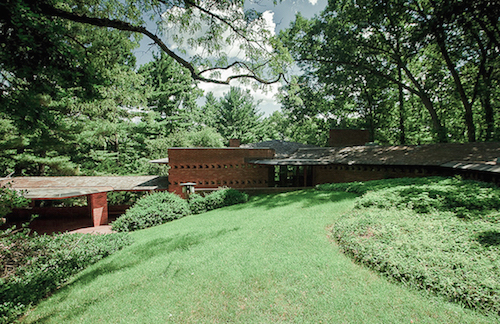 Plansmatter is airbnb for modern architecture for Frank lloyd wright palmer house