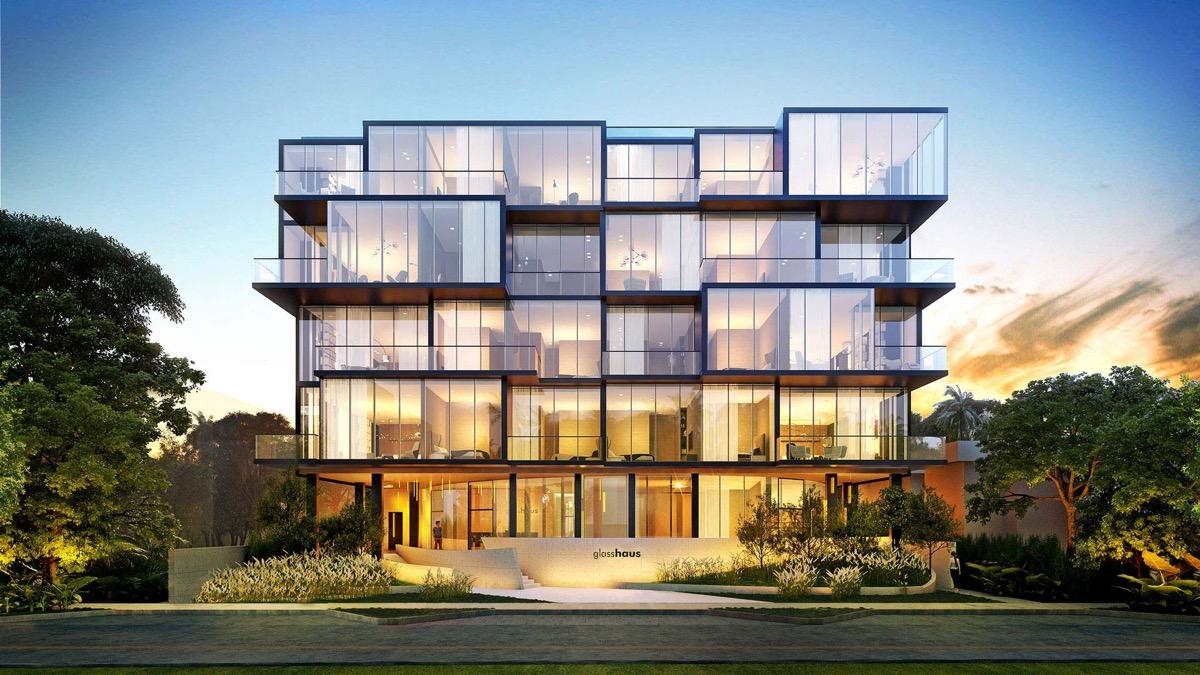 Coconut Grove S Boutique Glasshaus Condo Opens Its Sales