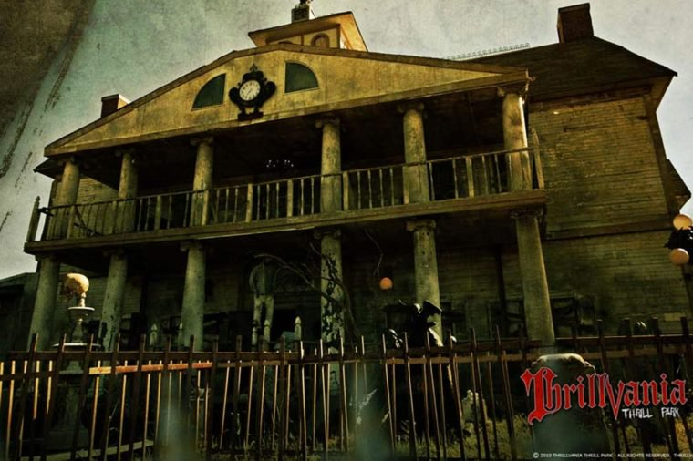 The scariest haunted houses in the usa for America best homes
