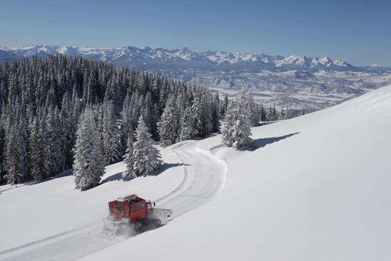 Skiing  Cimarron Mountain Club,  Cimarron Colorado  - Feb 2013