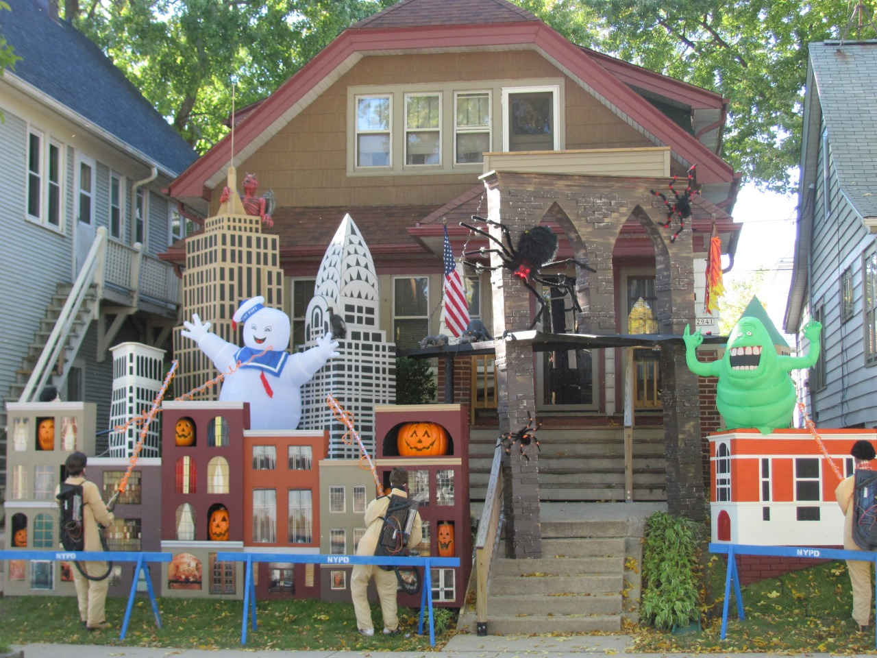Captivating Ghostbusters Halloween Decor