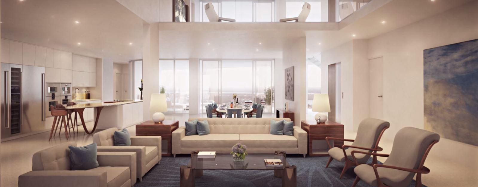 center sky villa living_kitchen