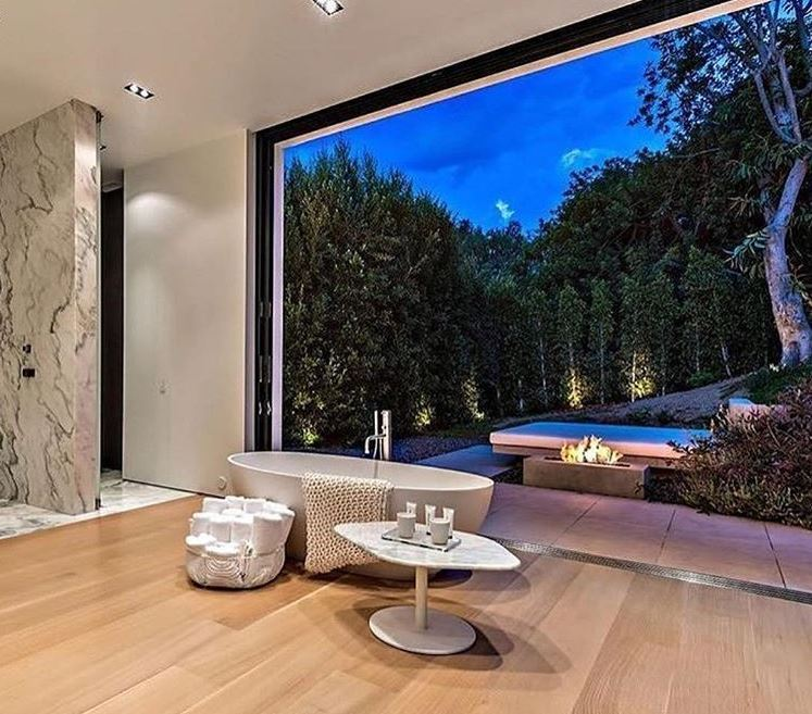 7 Of The Most Luxurious, Spa-Like Bathrooms On Instagram  To Bathroom Design on 1910 kitchen design, early 1900 bathroom design, 1800s kitchen design,