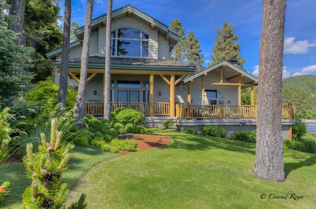 Driftwood lane residence on flathead lake showcases for Beauty residence
