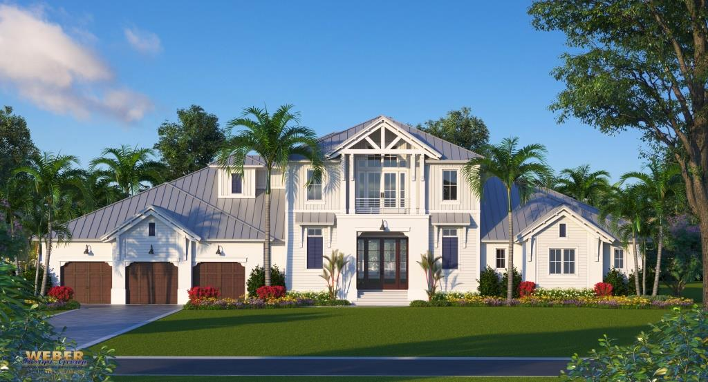 Showcasing award-winning RK Reiman, 445 N Barfield Dr is to be a premier Marco Island home with 4 bedrooms, 4 baths, 2 half baths./ Courtesy of Bill Reiman