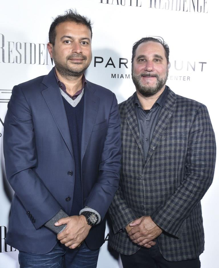 Kamal Hotchandani and Louis Bergman / Photo by Eugene Gologursky/Getty Images for Haute Living
