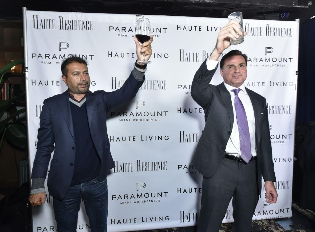 Kamal Hotchandani (left) and Dan Kodsi / Photo by Eugene Gologursky/Getty Images for Haute Living