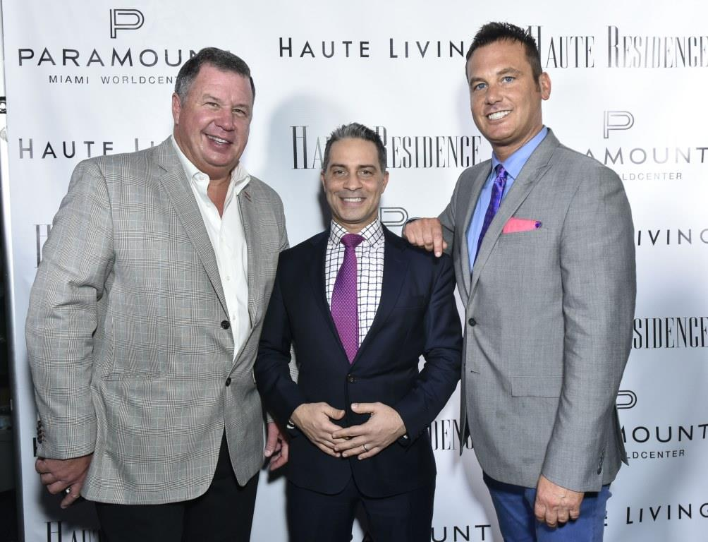 From left to right: John Weber, Nikko Mobasher, and Erik Haase / Photo by Eugene Gologursky/Getty Images for Haute Living