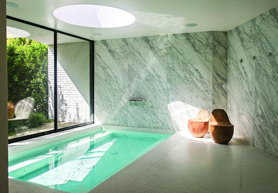 The spa inside the famed Brody House.