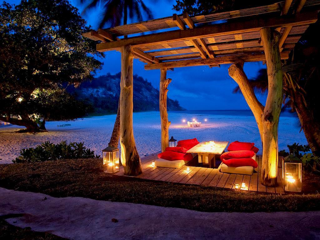 North Island Seychelles at night