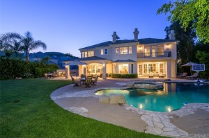 Kendrick Lamar Calabasas house backyard and pool