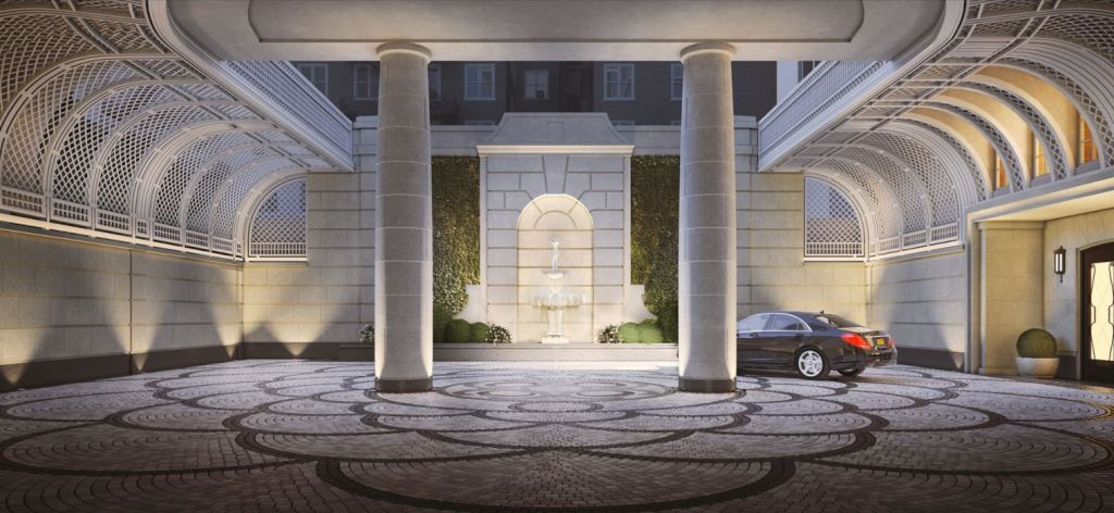 Last Night, Mercedes Benz Manhattan Hosted An Event For Their Top Clients  In The Luxurious Robert A.M. Stern Designed 20 East End Avenueu0027s Motor  Court.