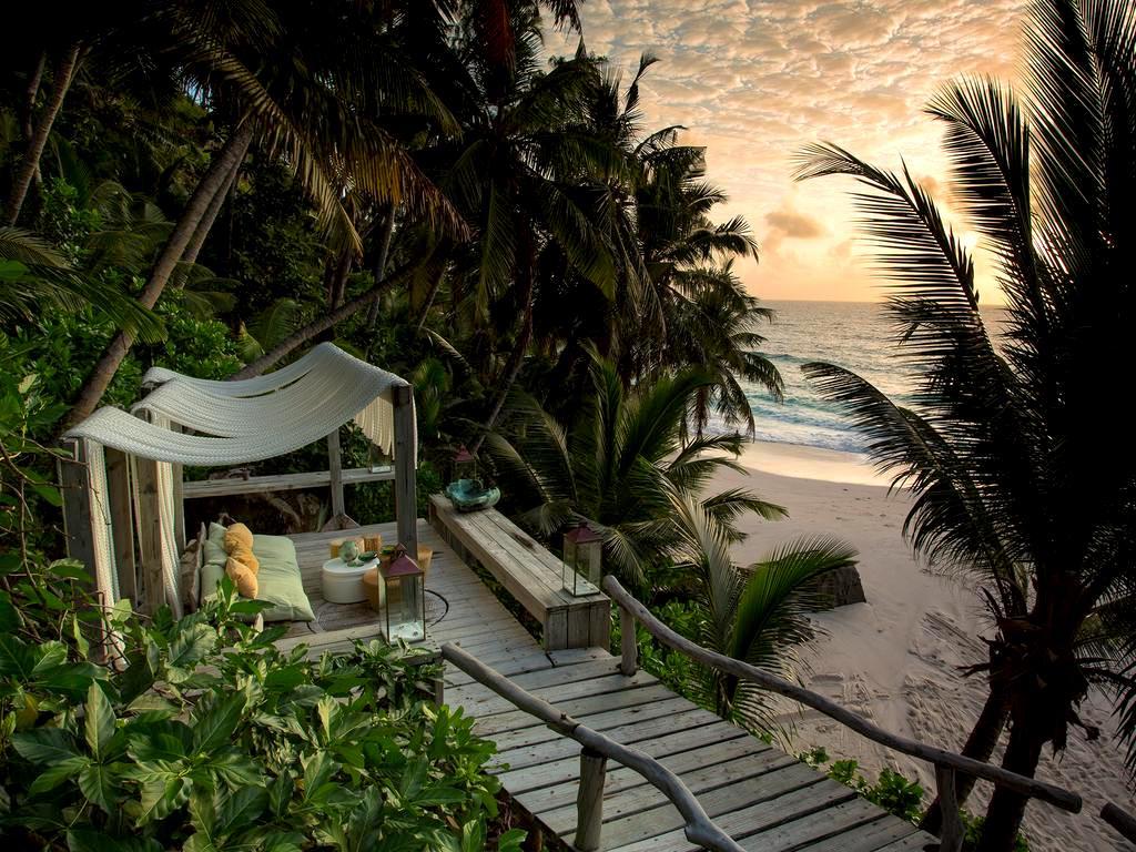 East Beach North Island Seychelles
