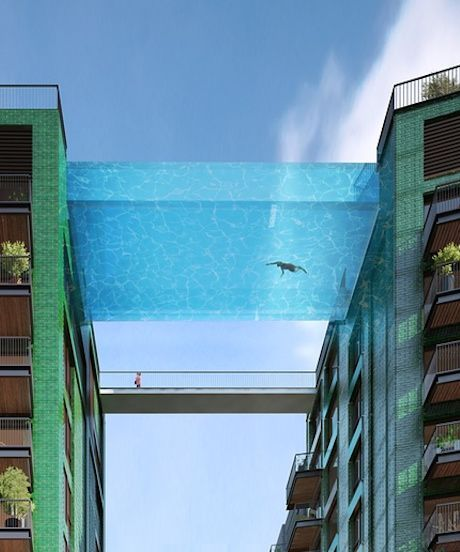Glass-Bottomed Sky Pools