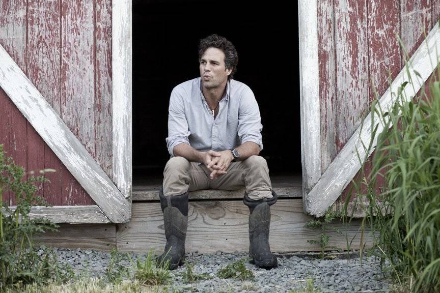 Mark Ruffalo on his Sullivan County farm