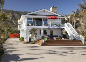 Ashton Kutcher Mila Kunis Beach House
