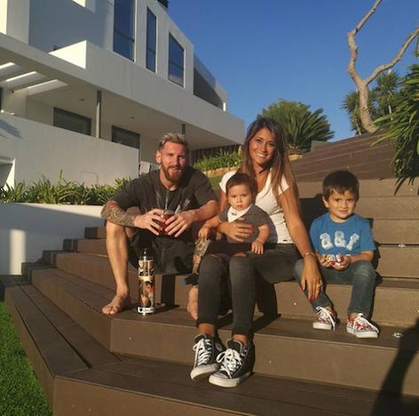 Messi family