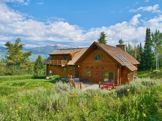 Sandra Bullock's Wyoming house