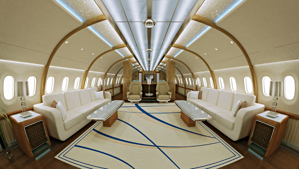 Inside Private Luxury Jets With Custom Made Interiors Worth Mega Millions