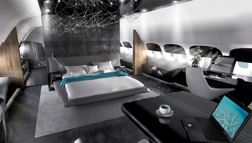 Private Luxury Jets With Custom Made Interiors
