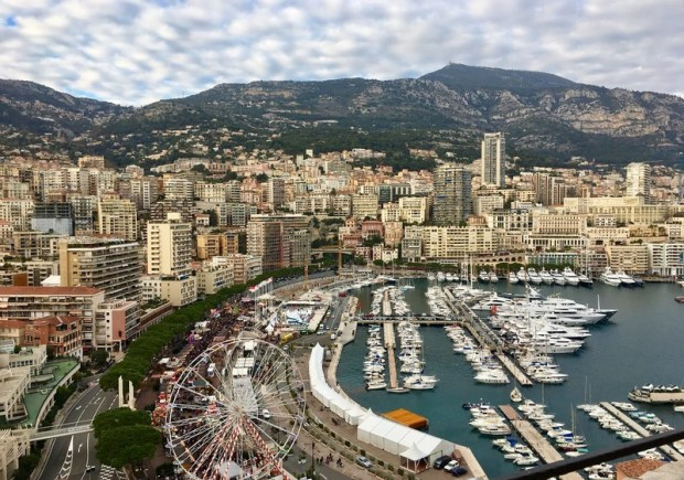 Sagan Monaco view