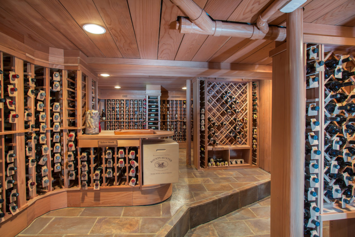 In-Home Luxe Wine Cellars