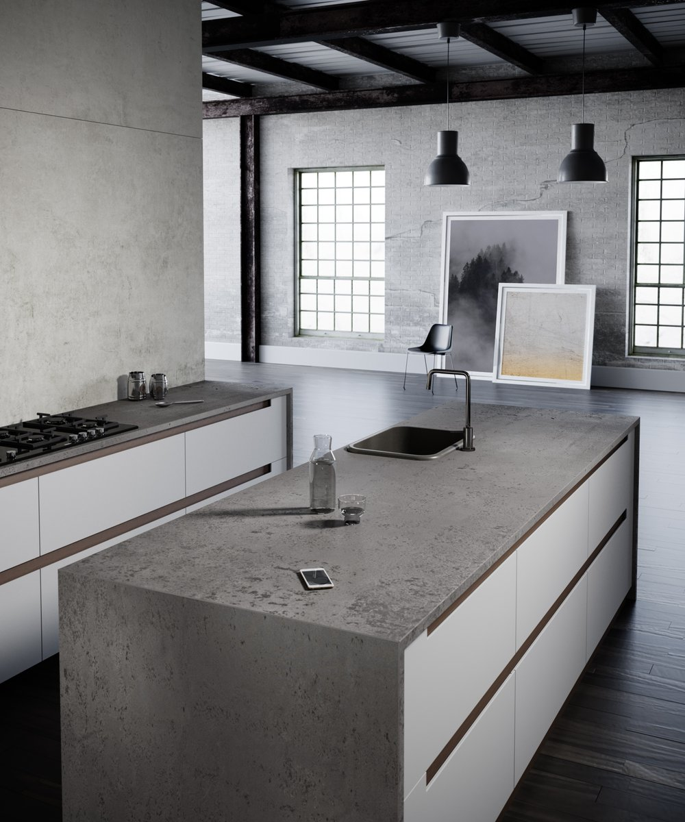 Cindy Crawford kitchen by Silestone