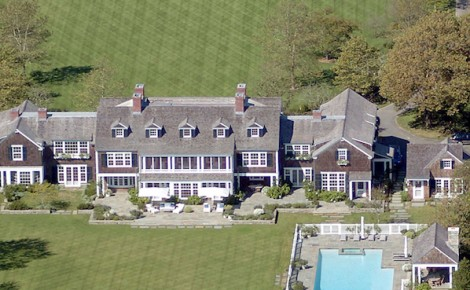 Jerry Seinfeld East Hamptons estate