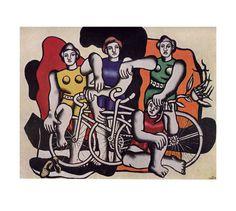 fernand leger Les Deux Bicyclettes