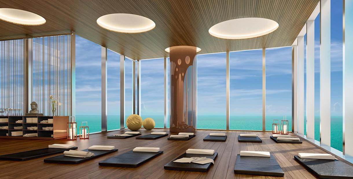 Upscale Condos With Jaw Dropping Yoga Studios