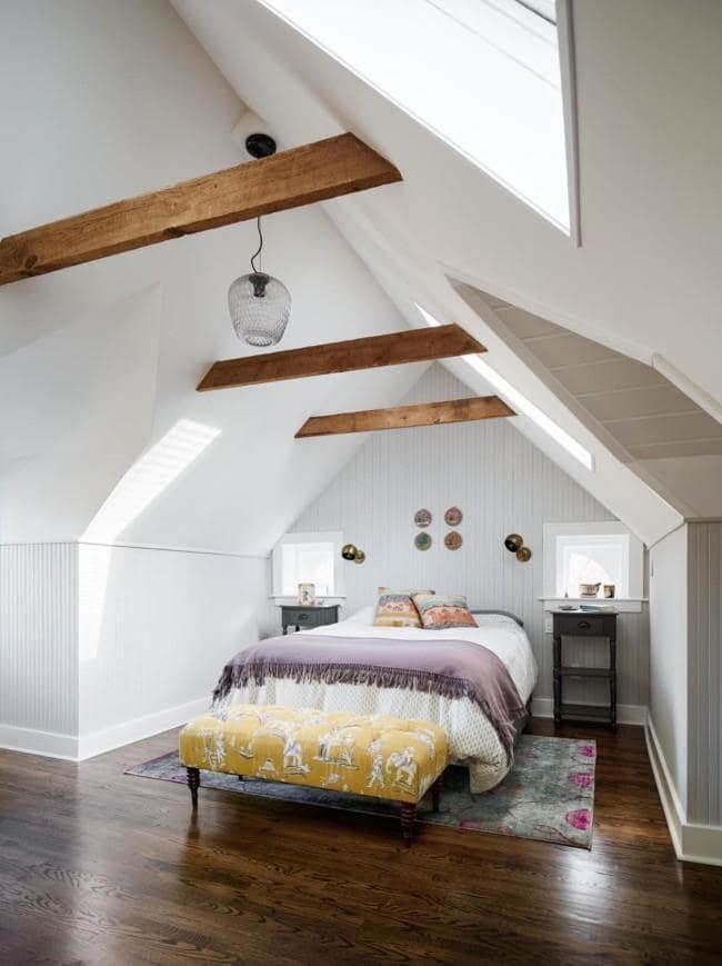 Amanda Seyfried Catskills bedroom