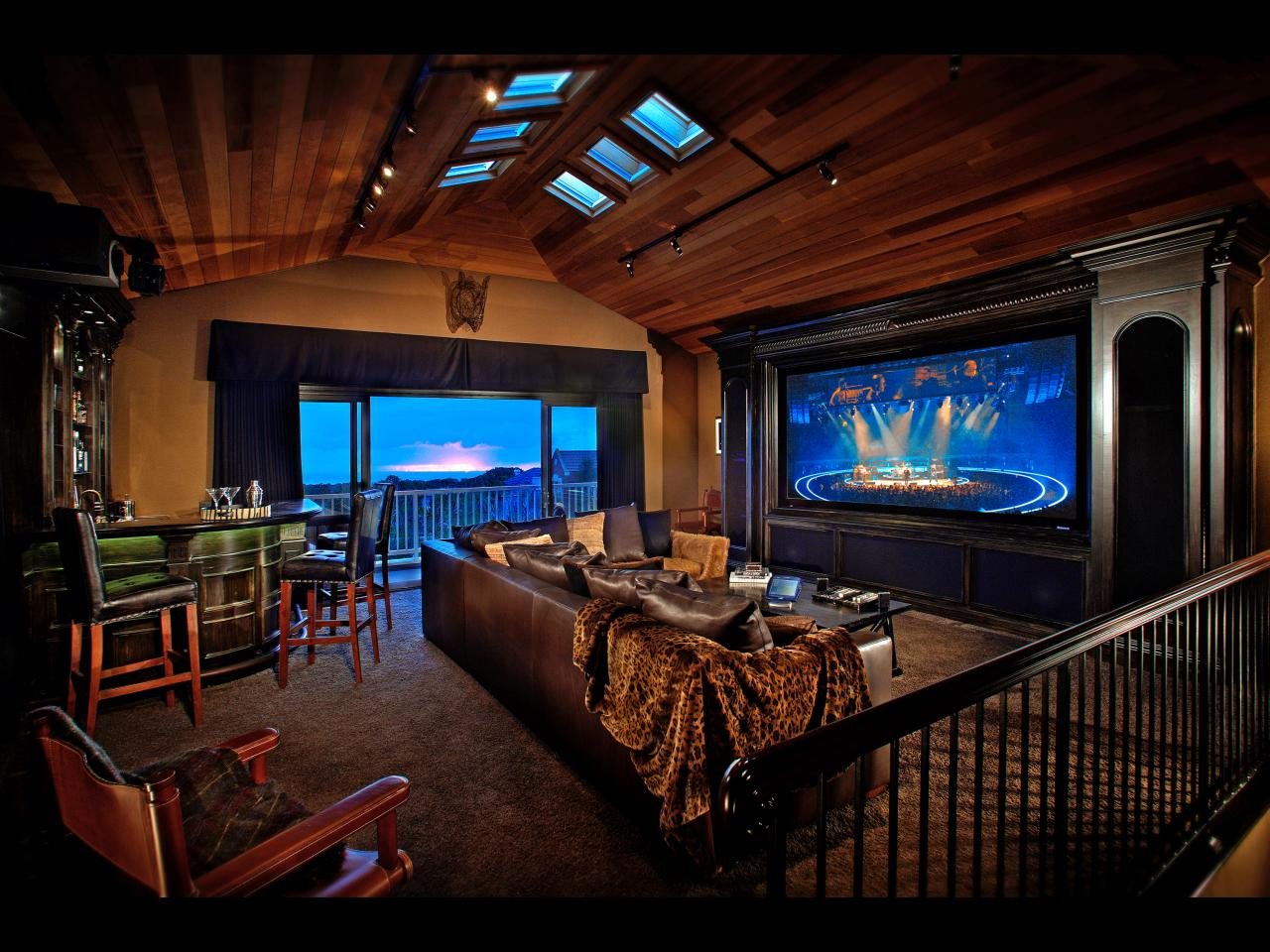 Bring Hollywood Home Must See Media Rooms Home Theaters