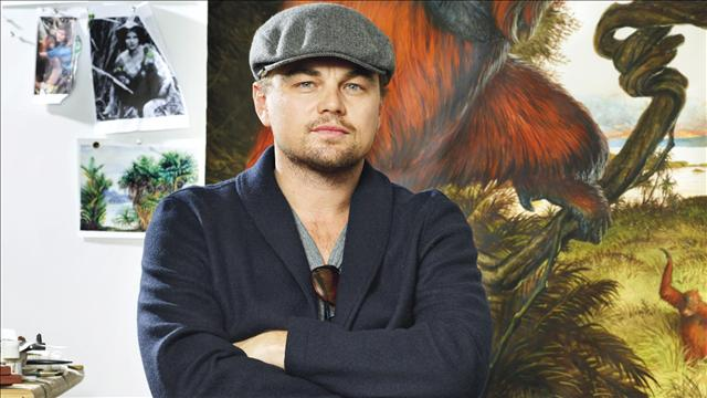 Leonardo DiCaprio at 11th hour Christies auction