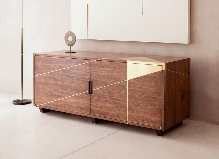 Anamorphic Console Table by Asher Israel