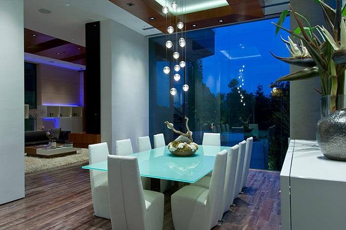 Bill Gates Xanadu 2.0 dining room