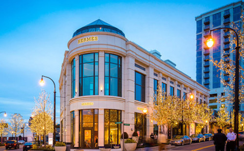 Hermes store in Buckhead Atlanta