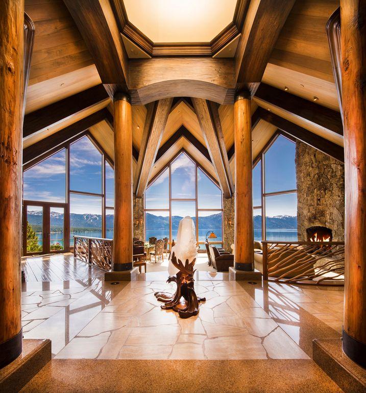Crystal Pointe Lake Tahoe entry pavilion