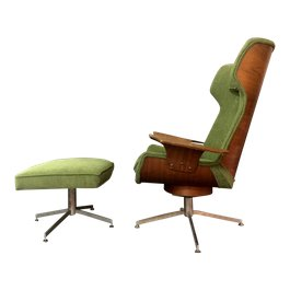 Chair and ottoman from FINCH in Hudson New York