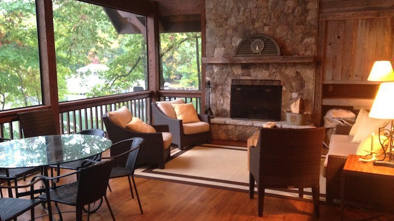 Nick Saban boat house interior