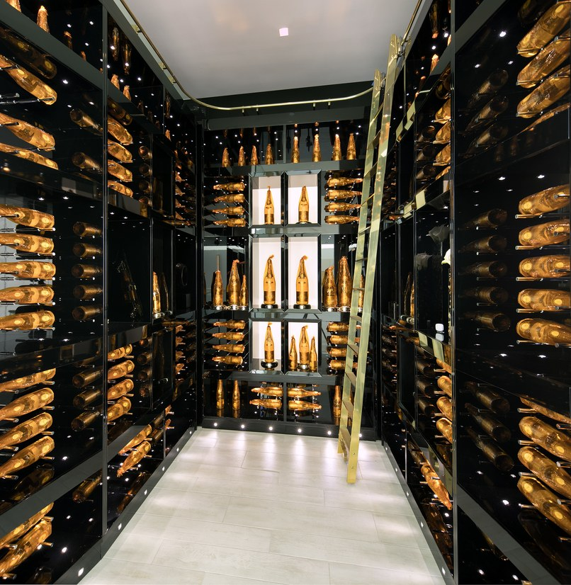 Crystal Wine Cellar in Opus by Paul McClean