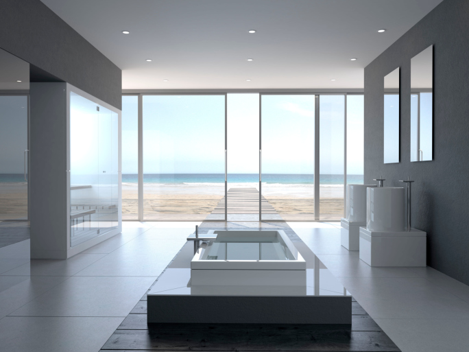 The Art Of The Modern Luxury Bathroom Haute Residence Featuring
