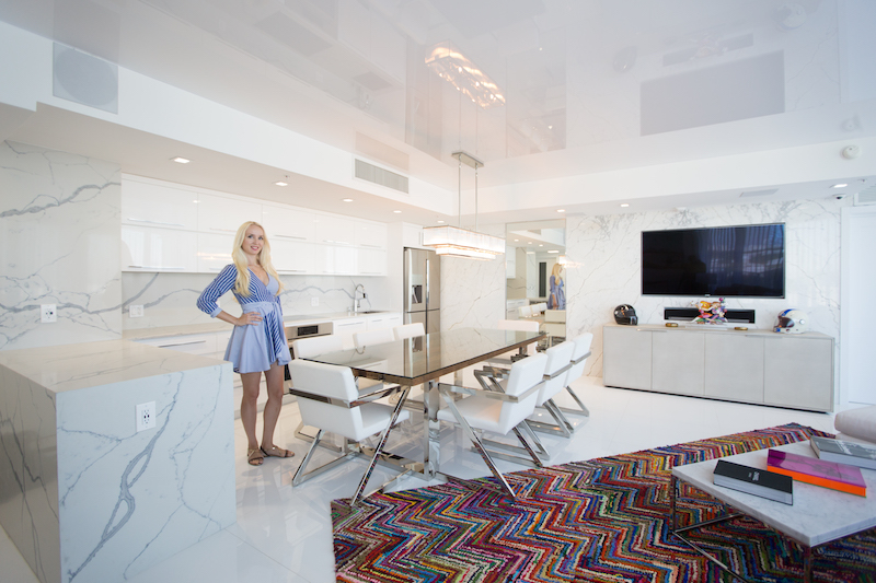 Inside Stunning Miami Beach Bachelor Pad By Natalia Neverko Design