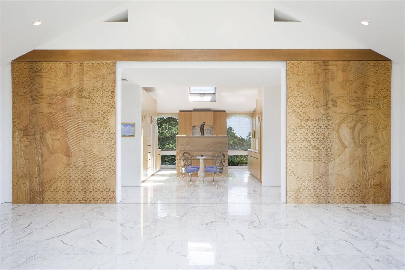 Masterpiece Homes With Built-In Artwork