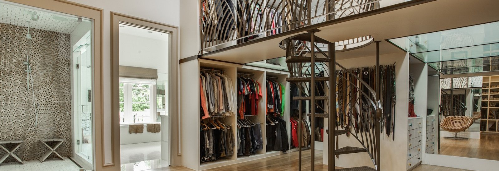 Walk-In Couture Closets